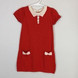 H&M Sweater Dress Orange Size 2-4Y
